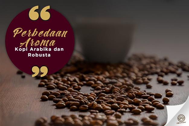 Aroma kopi yang menggoda
